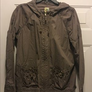 Old Navy hooded utility jacket